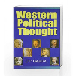 Western Political Thought by Gauba O P Book-9780230323834