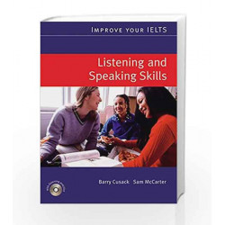 Improve Your IELTS Listening and Speaking Skills (With CD) by Barry Cusack Book-9780230009486