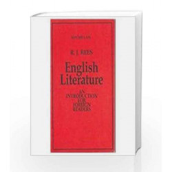 English Literature: An Introduction for Foreign Readers by Rees Book-9780333904336