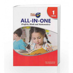 All-in-One(English,Hindi and Mathematics) class 1 by Full Marks Book-9789351551355