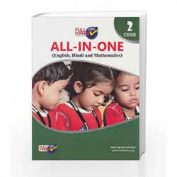 All-in-One (E+H+M) Class 2 by Full Marks Book-9789351551362