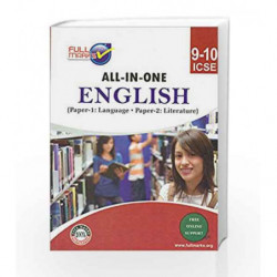 ICSE-All-in-One English Class 9-10 by Full Marks Book-9789382741305