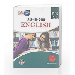 ISC - All-in-One English Class 11-12 by Full Marks Book-9789382741749