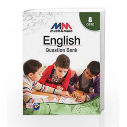 MM Question Bank English Class 8 CBSE by Team of Exeperience Author Book-9789351551249