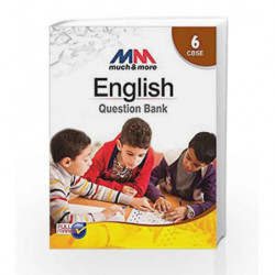 MM English Question Bank Class 6 CBSE by Tanay Sukumar Book-9789351551225