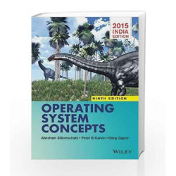 Operating System Concepts by Silberschatz Book-9788126554270
