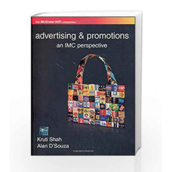 Advertising and Promotions an IMC Perspective by Kruti Shah Book-9780070080317
