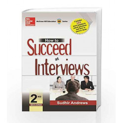 How to Succeed at Interviews by Sudhir Andrews Book-9780070221789