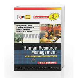 HUMAN RESOURSES MANAGEMENT(SIE): Gaining a Competitive Advantage by Raymond Noe Book-9780070620100