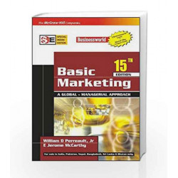 BASIC MARKETING (SIE) :A Global- Managerial Approach by Jr., William Perreault Book-9780070620186