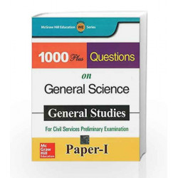 1000 Plus Questions on General Science by N/A Mcgraw-Hill Education Book-9781259001253