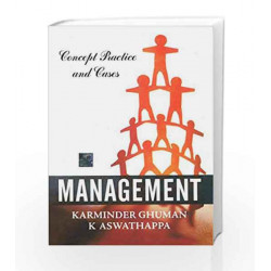 MANAGEMENT : CONCEPT & CASES by K. Aswathappa Book-9780070682184