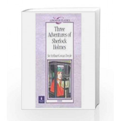 LC: Three Adventures of Sherlock Holmes by Sir Arthur Conan Doyle Book-9788131706107