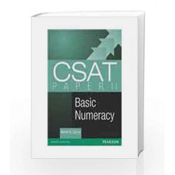 CSAT Paper 2 Basic Numeracy by Nishit K Sinha Book-9788131790243