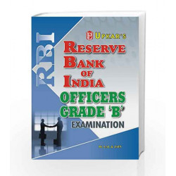 Reserve Bank of India Grade 'B' Examination by Lal Book-9788174823922