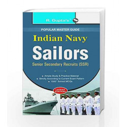 Indian Navy (SSR) Sailor Recruitment Exam Guide by RPH Editorial Board Book-9788178124995