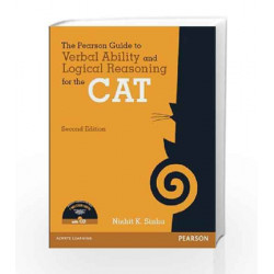The Pearson Guide to Verbal Ability and Logical Reasoning for the CAT with CD by Nishit K Sinha Book-9789332528833