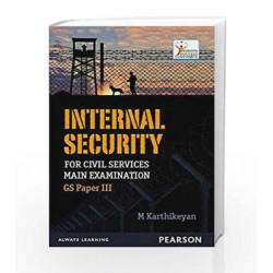 Internal Security for UPSC by Karthikeyan Book-9789332573932