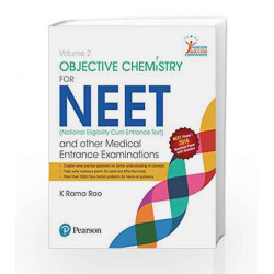 Objective Chemistry for NEET 2016 Vol 2 by Rao Book-9789332575431