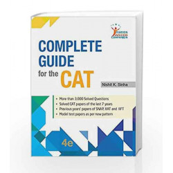 Complete Guide to CAT 4e by Sinha Book-9789332576513