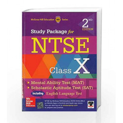 Study Package for NTSE Class X (Old Edition) by McGraw Hill Education Book-9789332902534