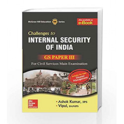 Internal Security and Disaster Management: GS Paper 3 (Old Edition) by Ashok Kumar Book-9789339204198