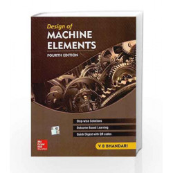 Design of Machine Elements by Bhandari Book-9789339221126