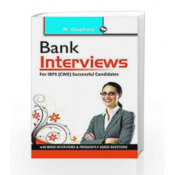 Bank Interviews For IBPS (CWE) Successful Candidates by RPH Editorial Board Book-9789350123225