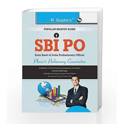 SBI PO Phase-I: Preliminary Examination Guide by RPH Editorial Board Book-9789350125618