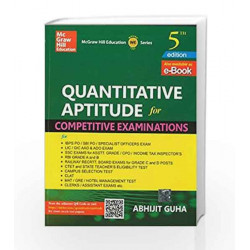 Quantitative Aptitude for Competitive Examination by Abhijit Guha Book-9789351343554