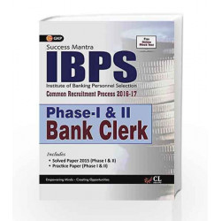 IBPS Bank Clerk Phase I Guide 2016 by GKP Book-9789351449492