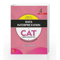 How to Prepare for Data Interpretation for CAT by Arun Shrama Book-9789352602254