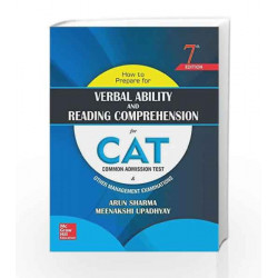 How to Prepare for Verbal Ability and Reading Comprehension for CAT by Arun Sharma Book-9789352602261