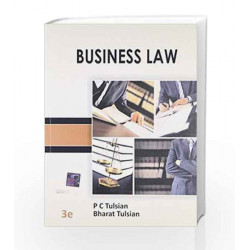 Business Law by P C Tulsian Book-9789339203467