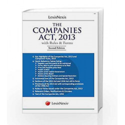 The Companies Act,2013 with Rules and Forms by Vinod Kothari Book-9789351431824